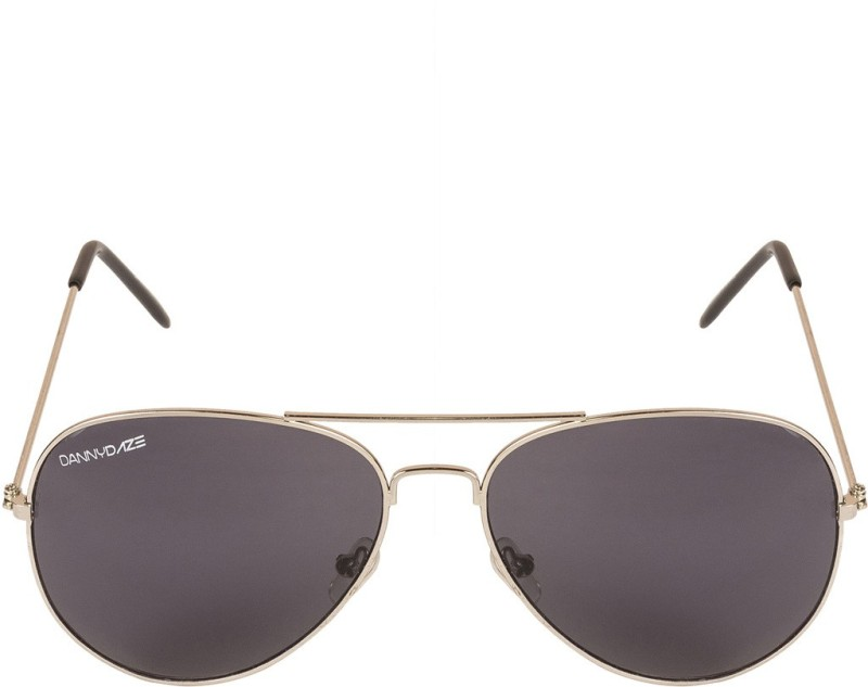 Danny Daze Aviator Sunglasses(Black)