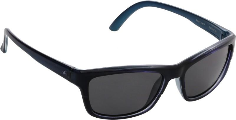 Fastrack Rectangular Sunglasses(Black)