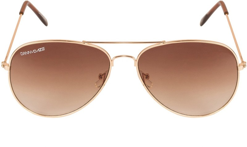 Danny Daze Aviator Sunglasses(Brown)