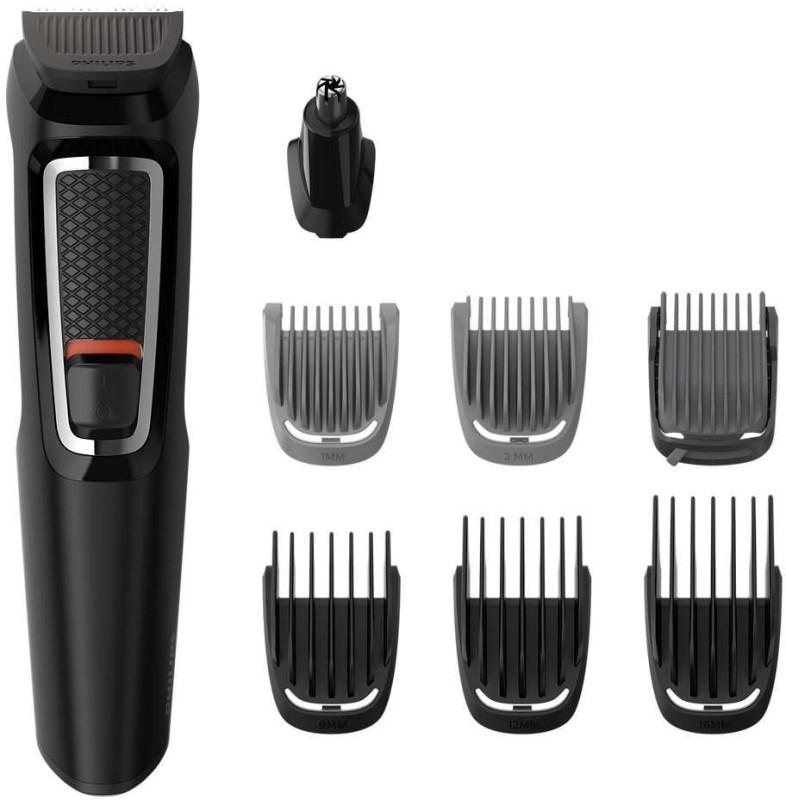 Philips MG3730 Multi-Grooming Kit For Men Cordless Trimmer(Black)