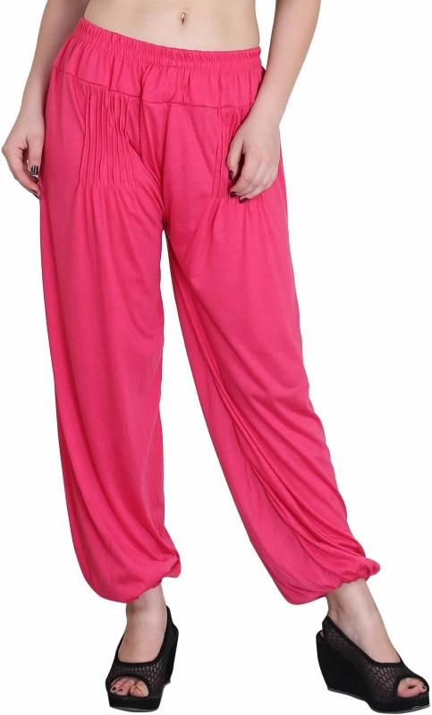 Myshka Solid Cotton Womens Harem Pants