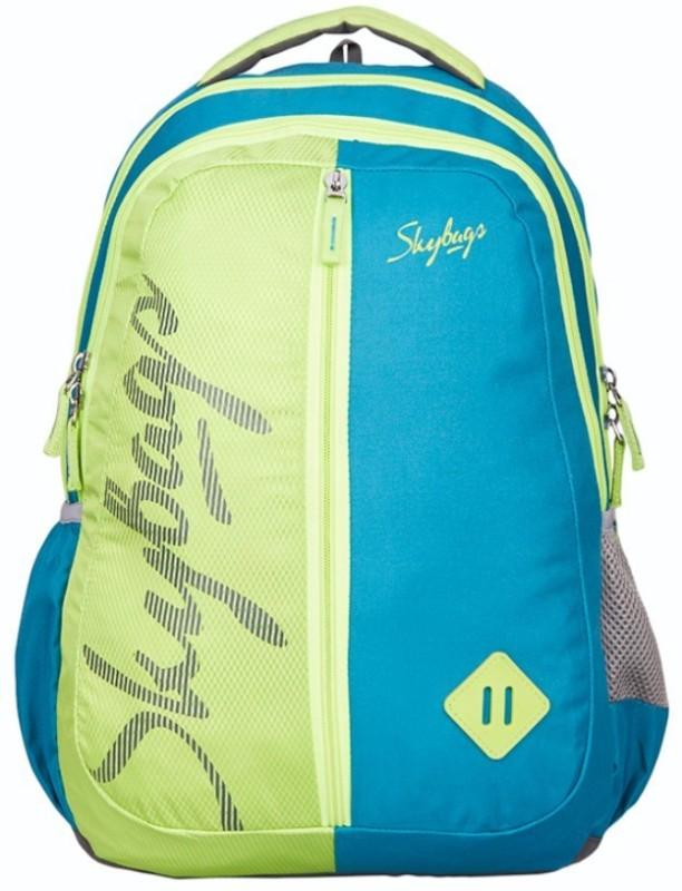 Skybags Footloose Leo 6 School Bag 25 L Backpack(Blue, Green)