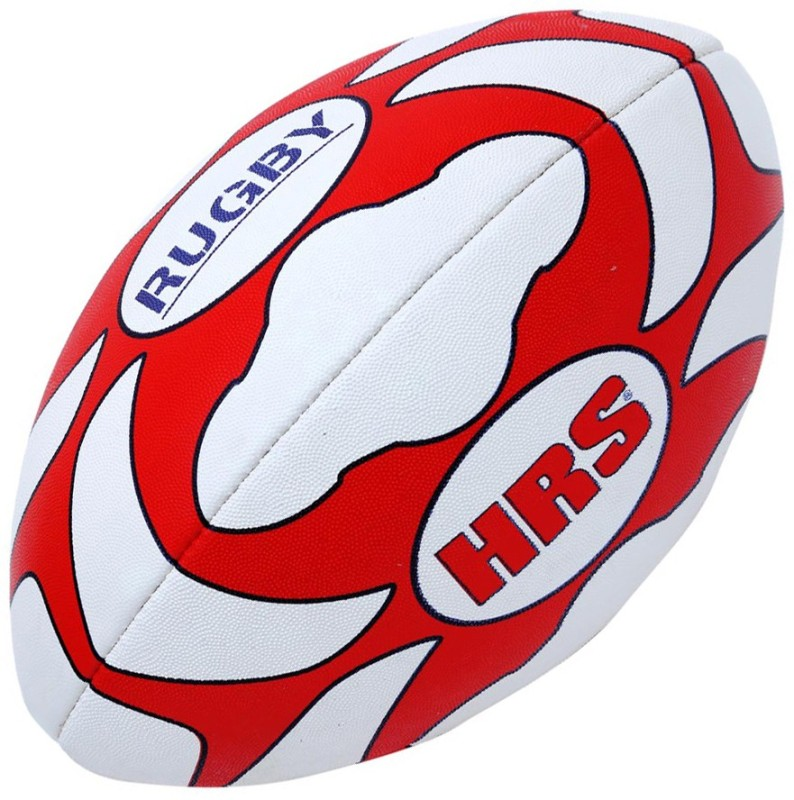 HRS Club Rugby Ball, Size-4 Rugby Ball - Size: 4(Pack of 1, Multicolor)