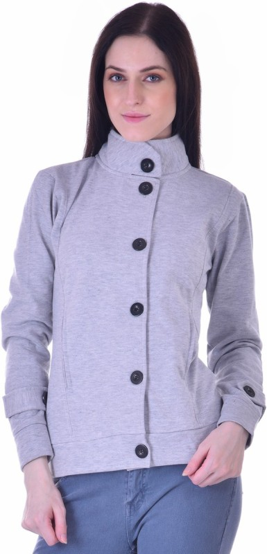 Christys Collection Womens Button Solid Cardigan
