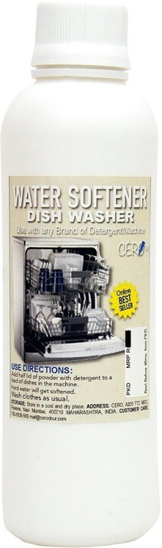 CERO WATER SOFTENER | For Dish Washer | Use with any Brand of Detergent / Machine (200g) Dishwashing Detergent(200 ml)