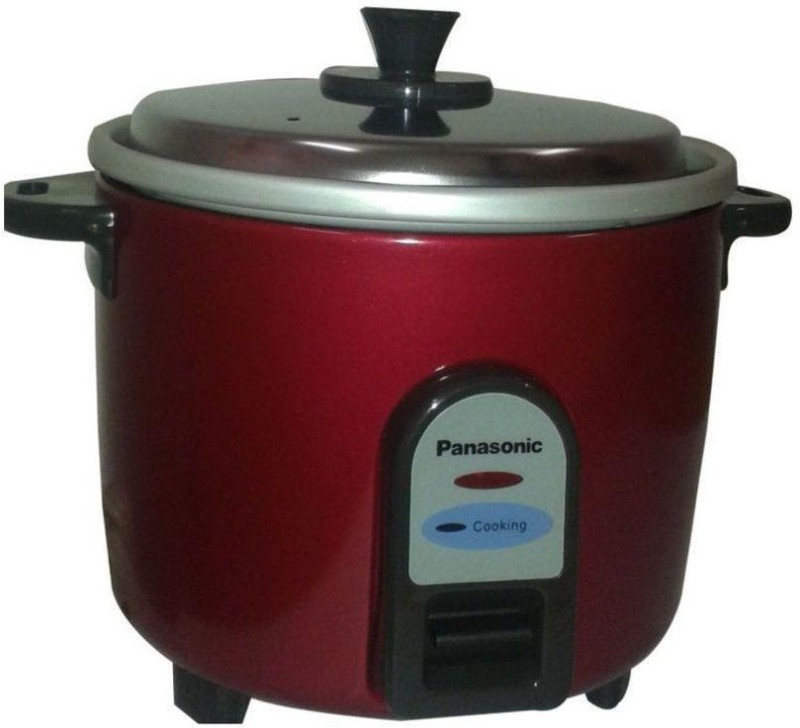 Panasonic SR-3NA (Burgundy) Electric Rice Cooker(0.5 L, Burgundy)