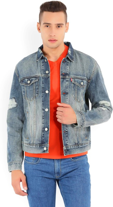 Levi's Full Sleeve Solid Men's Jacket