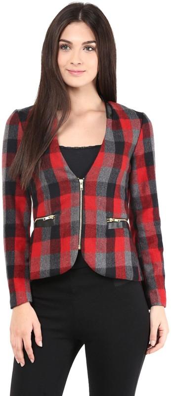 The Vanca Full Sleeve Striped Women Jacket