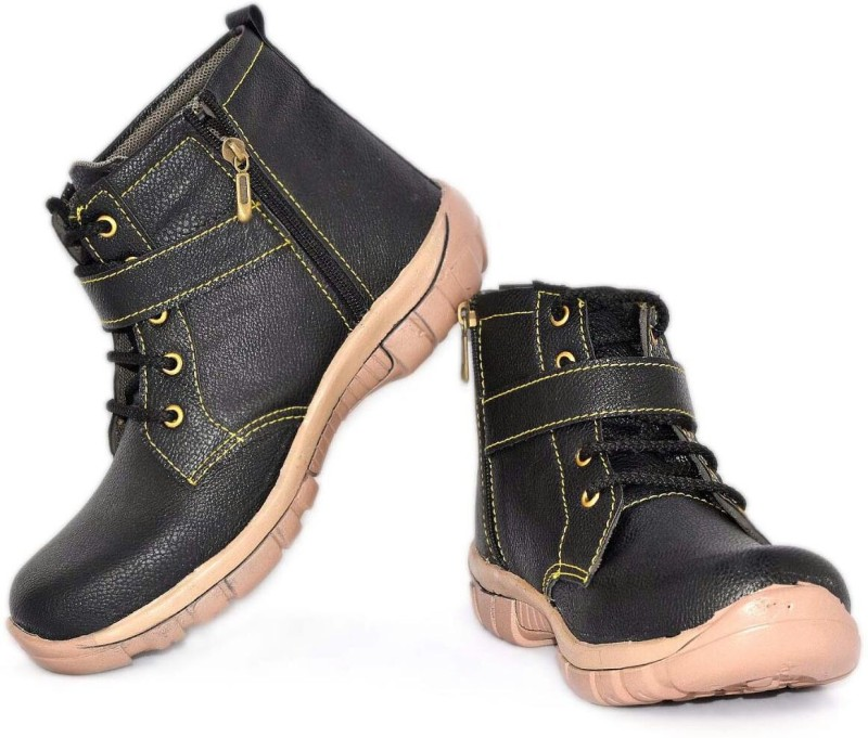 Hiker Boys Lace Casual Boots(Brown)