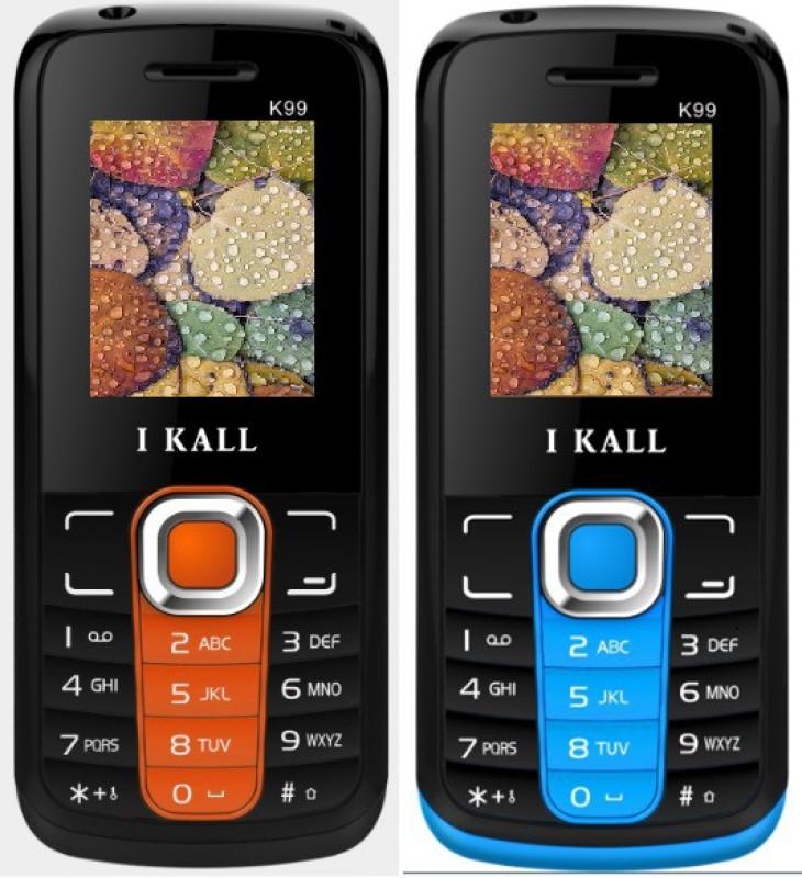 i-kall-k99-combo-of-two-mobileorange-blue