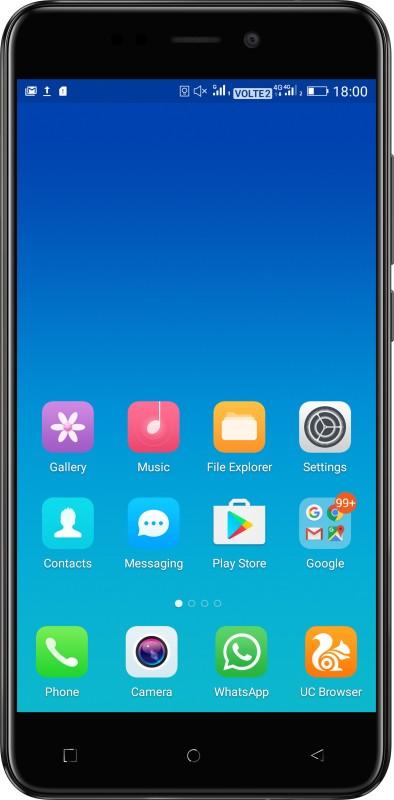 Gionee X1s (Black, 16 GB)(3 GB RAM) image