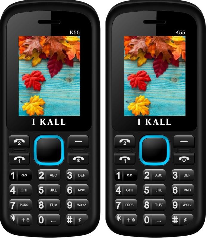 i-kall-k55-combo-of-two-mobileblue-blue