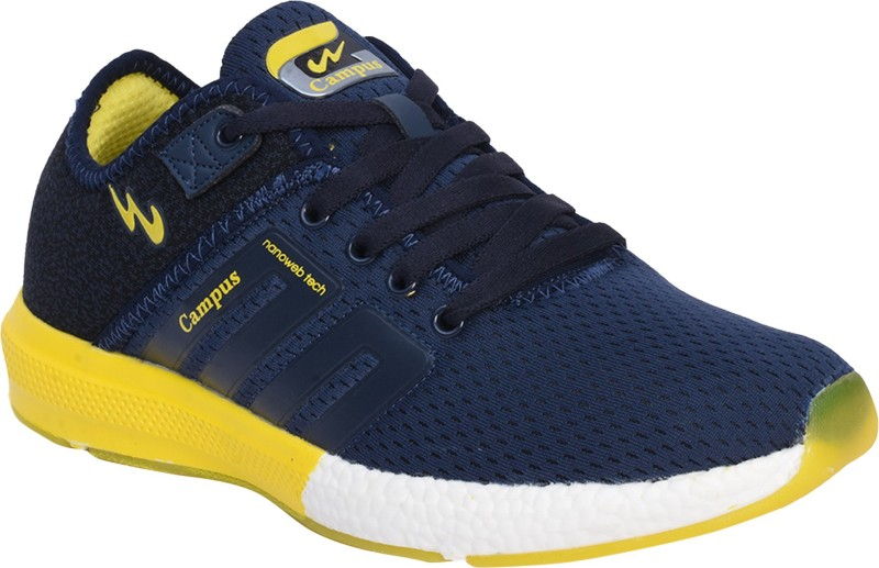 Campus BATTLE Walking Shoes For Men(Navy)
