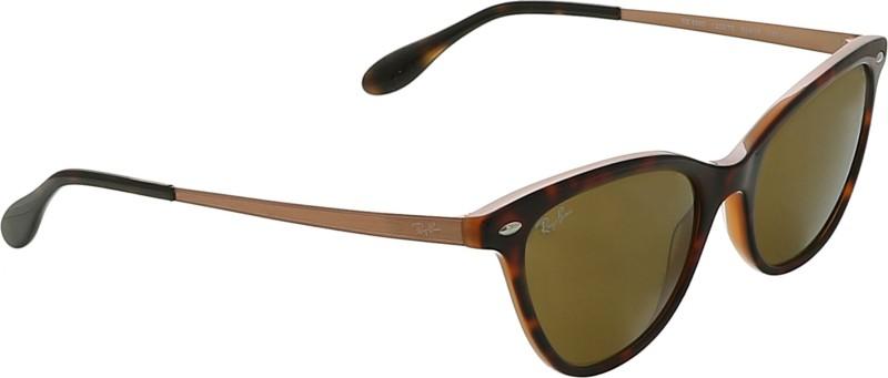 Ray-Ban Cat-eye Sunglasses(Brown)