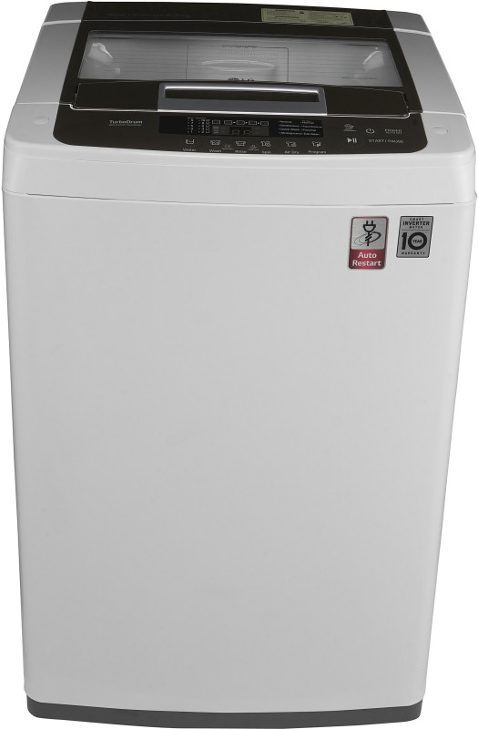 LG 6.2 kg Fully Automatic Top Load Washing Machine White(T7269NDDLZ)