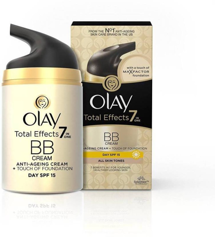 Olay Total Effects 7-in-1 Anti-Ageing BB Day Cream with a Touch Of Foundation SPF15(50 g)