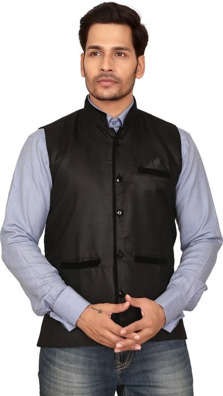 Garun Sleeveless Solid Men's Jacket