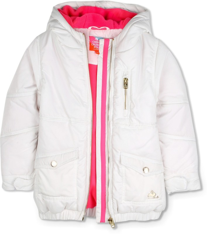 Cherry Crumble California Full Sleeve Solid Baby Boys & Baby Girls Jacket