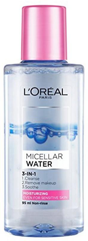 L'Oreal Paris Micellar Water 3 In 1 Makeup Remover(95 ml)