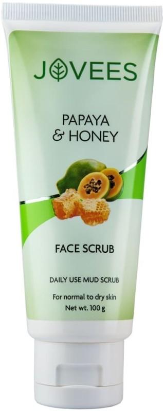 Jovees papaya s honey daily scrub Scrub(100 g)