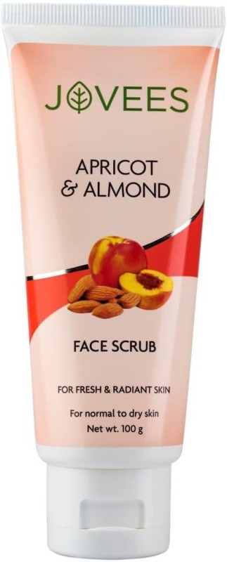 Jovees apricot s almond face scrub Scrub(220 g)