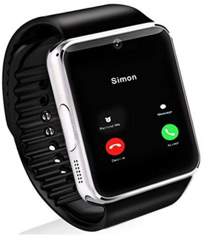 Robobull GT08 Smart Watch With Sim and Camera Smartwatch(Black Strap Regular)