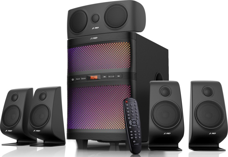 F&D F5060X 135 W Bluetooth Home Theatre(Black, 5.1 Channel)