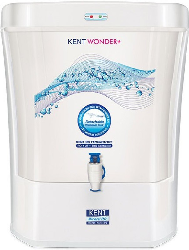 Kent WONDER PLUS 15 L RO + UF Water Purifier(White)