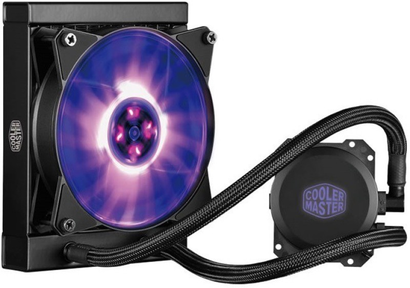 Cooler Master MasterLiquid ML120L MLW-D12M-A20PC-R1 Cooler(Black)