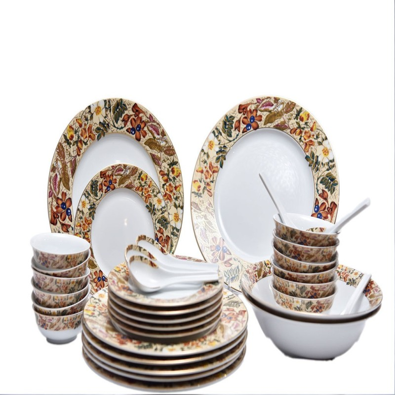 Lakline Dinner Set(Porcelain)