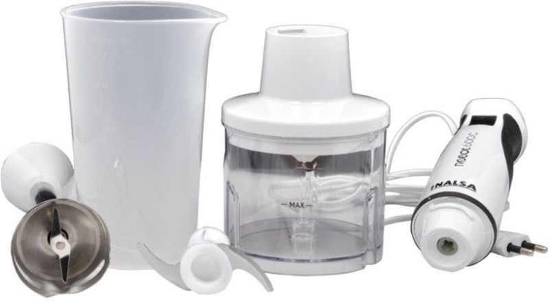 Inalsa Robot 600 C 600 W Hand Blender(White)