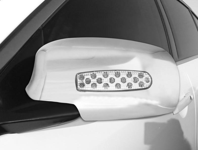BALARKA CHROME BLINKING MIRROR COVER FOR VENTO(ALL MODEL) Plastic Car Mirror Cover(Volkswagen Vento)