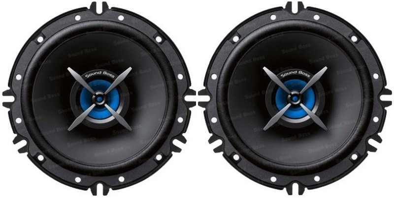 Sound Boss SB-B0162 6 INCH 2Way Performance Auditor 280W MAX Coaxial Car Speaker(260 W)