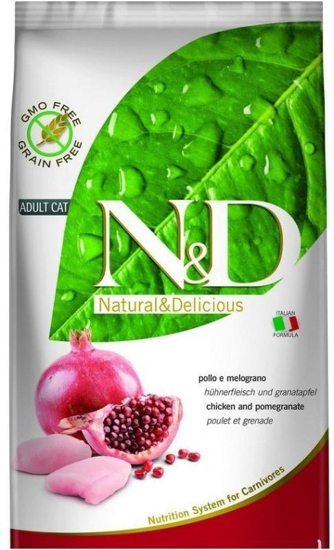 farmina Grain-free Chicken pomegranate adult cat 1.5kg Chicken 1.5 kg Dry Cat Food