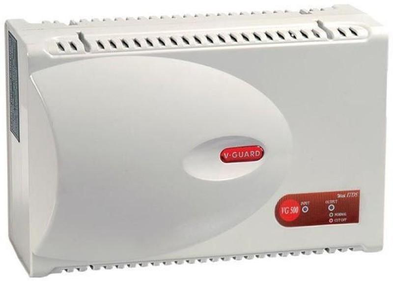 V-Guard VG500 Voltage Stabilizer(White)