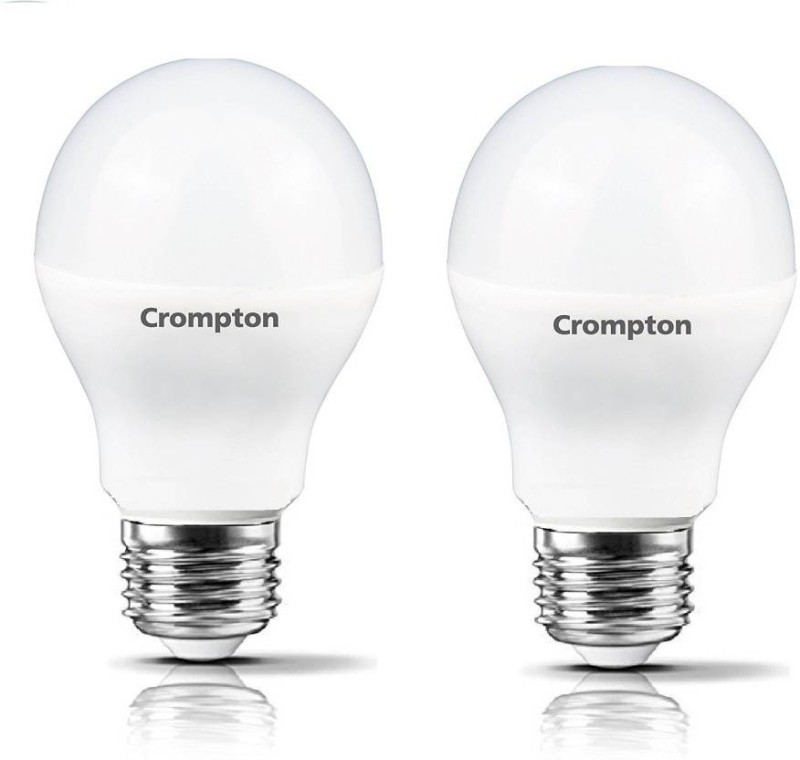 Crompton 5 W Standard E27 LED Bulb(White, Pack of 2)
