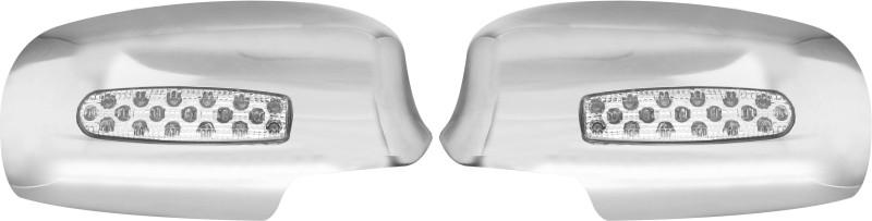 BALARKA CHROME MIRROR COVER Plastic Car Mirror Cover(Toyota Corolla Altis)