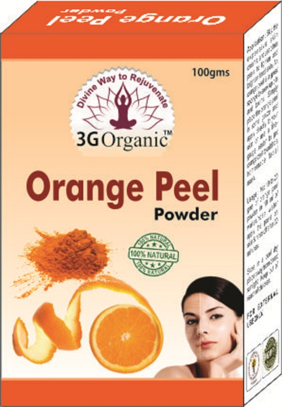 3G Organic Orange Peel Powder 50 Gms Combo Pack From 3G Organic(100 g)
