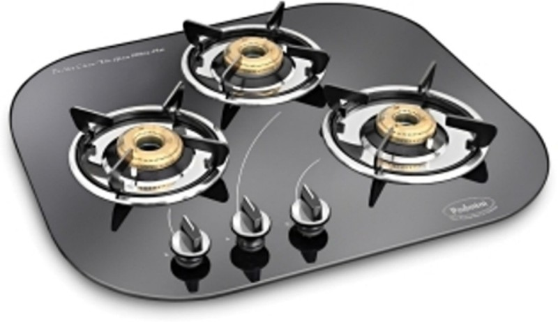 Padmini 300GL IB Stainless Steel Automatic Gas Stove(3 Burners)