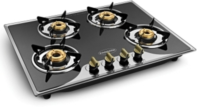 Padmini 400GL IB Stainless Steel Automatic Gas Stove(4 Burners)