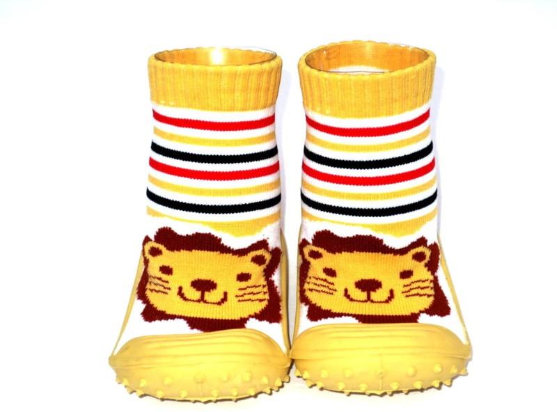 PURSUIT Boys Slip on Casual Boots(Beige)