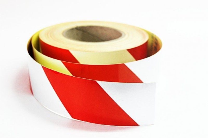 Laps of Luxury GD460 Red and Silver Radium 50.8 mm x 45.72 m Multicolor Reflective Tape(Pack of 1)