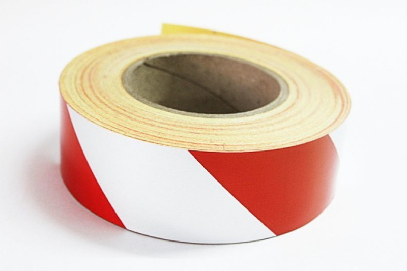 Laps of Luxury GD457 Red and Silver Radium 50.8 mm x 3.65 m Multicolor Reflective Tape(Pack of 1)