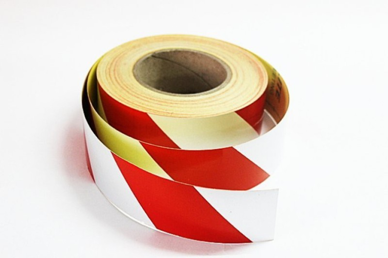 Laps of Luxury GD459 Red and Silver Radium 50.8 mm x 14.63 m Multicolor Reflective Tape(Pack of 1)
