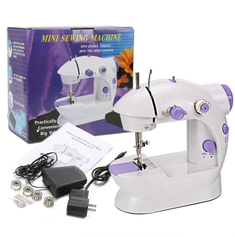 Wonder World Sewing Machine Mini 2-Speed Double Thread, Double Speed, Portable Electric Sewing Machine( Built-in Stitches 1)