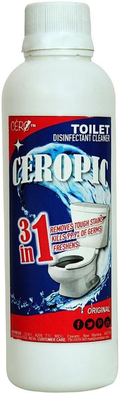 CERO CEROPIC Toilet Disinfectant Cleaner LYE CONCENTRATE(200ml) Regular Liquid Toilet Cleaner(200 ml)