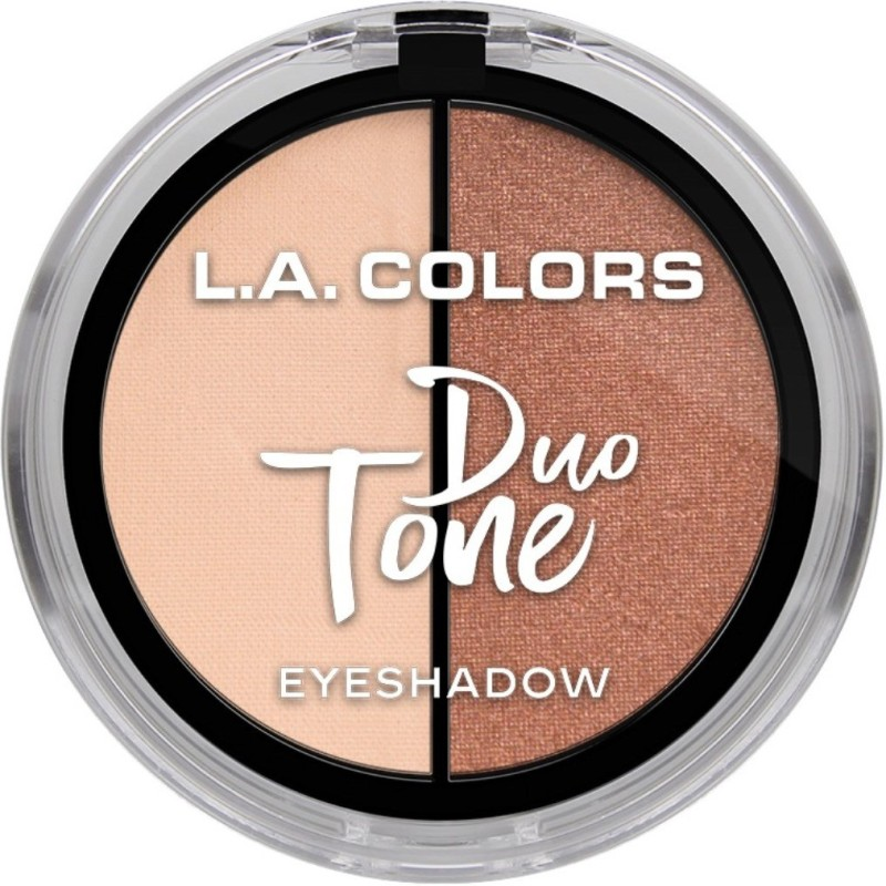L.A. Colors Duo Tone Eyeshadow - 4.5 g(Glow)