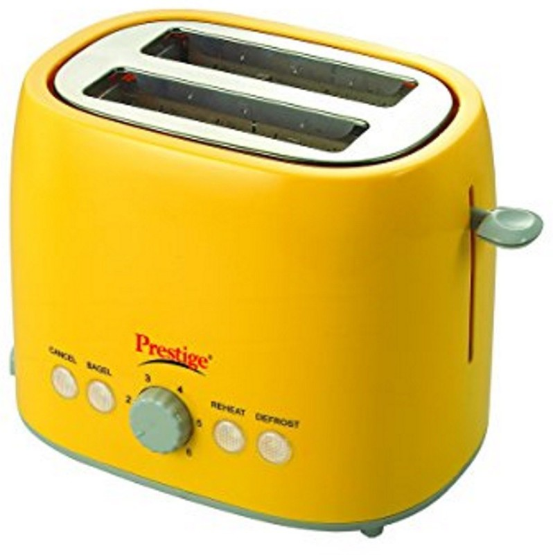 Prestige PPTPKY 850 W Pop Up Toaster(Yellow)