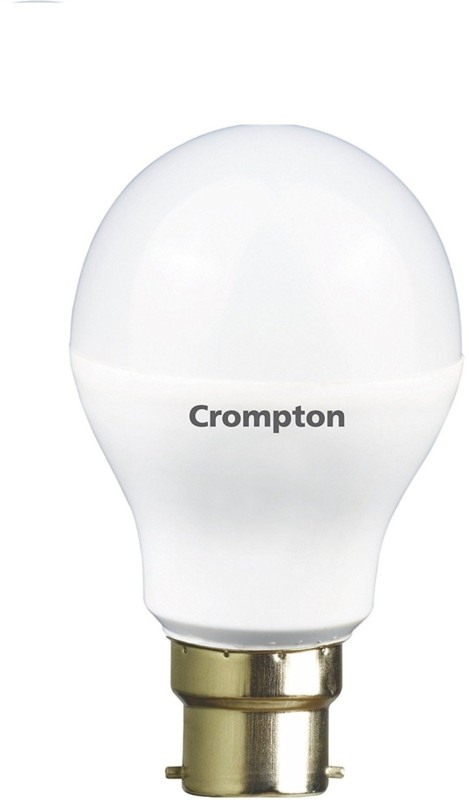 Crompton 7 W Standard B22 LED Bulb(Yellow)
