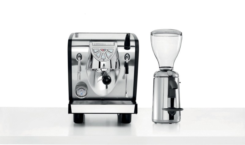 Nuova Simonelli MUSICA 25 Cups Coffee Maker(SILVER BLACK)